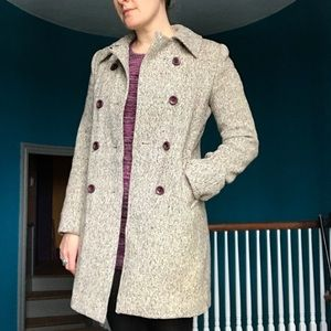 Vintage Irish wool pea coat
